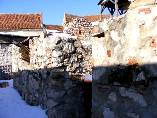 casele cetatea rasnov