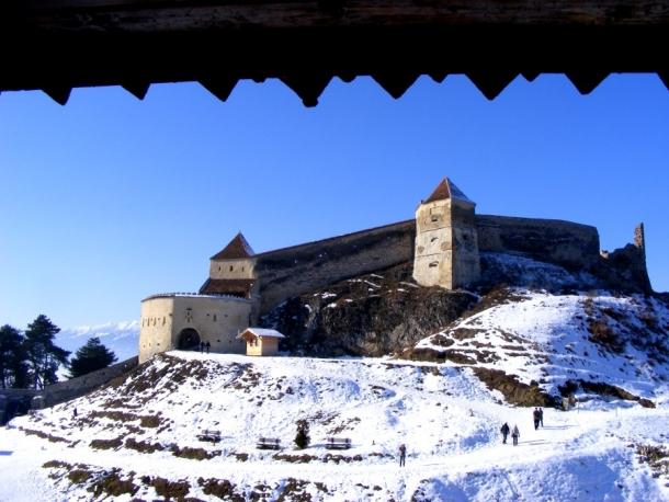 cetatea rasnov din turn 1