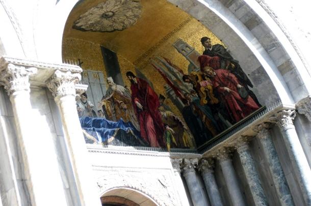 fresca bazilica san marco