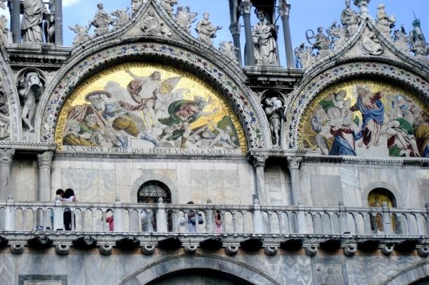 fresce bazilica san marco