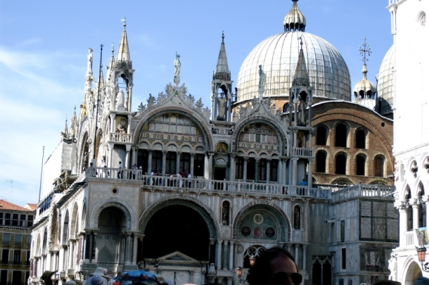 intrare bazilica san marco