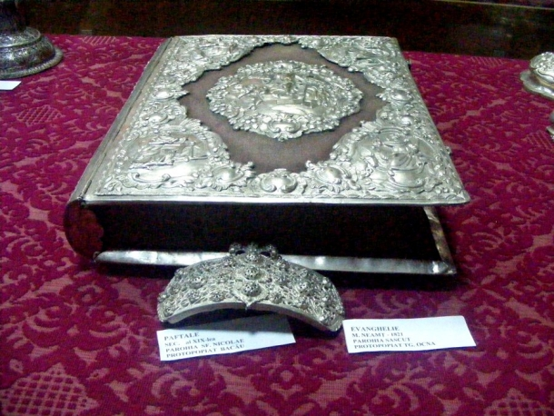muzeu borzesti evanghelie din neamt
