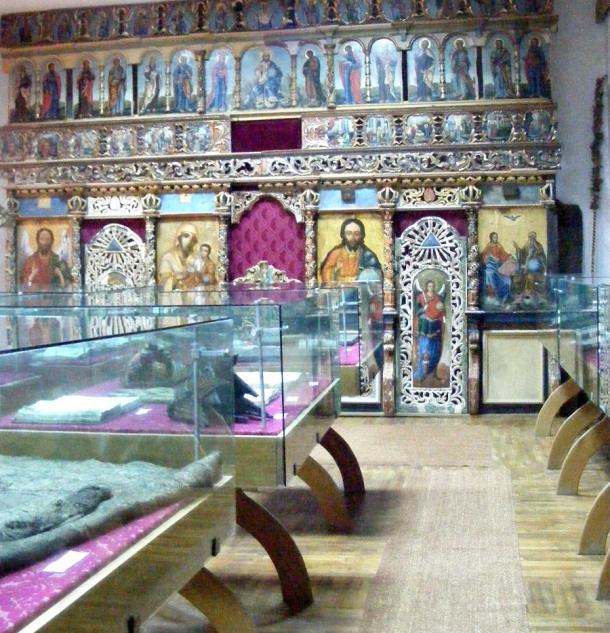 muzeu borzesti interior rep