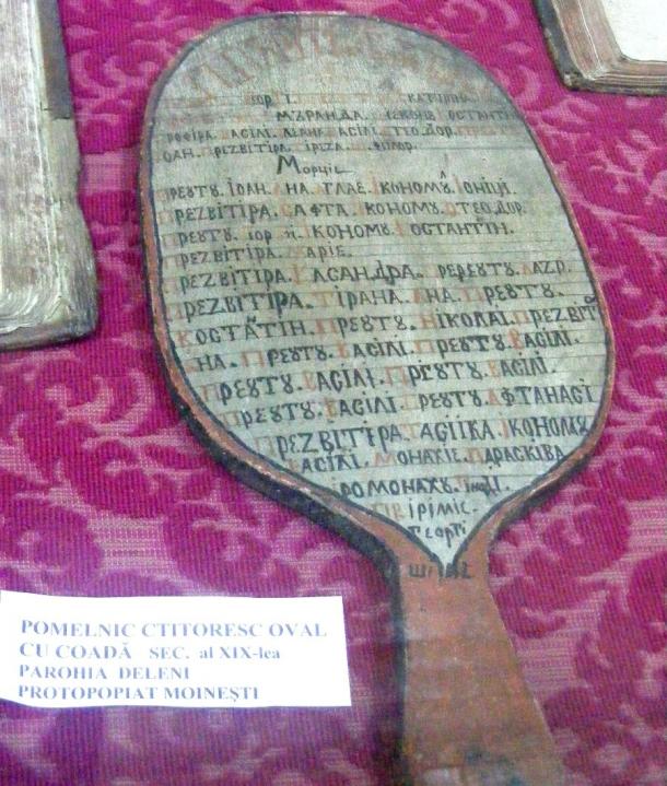 muzeu borzesti pomelnic ctitoresc