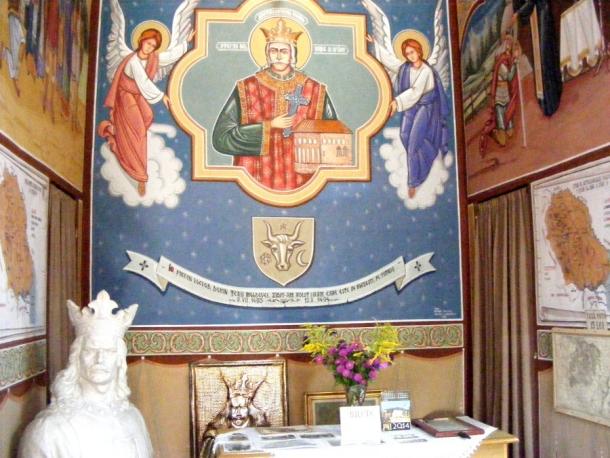muzeu cultural borzesti altar stefan