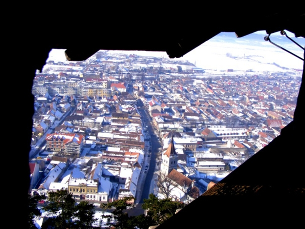 oras pe fereastra cetatea rasnov