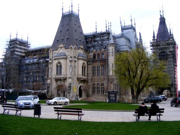 palatul culturii iasi parc