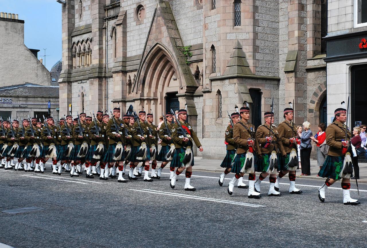 Aberdeen trupe de fanfara