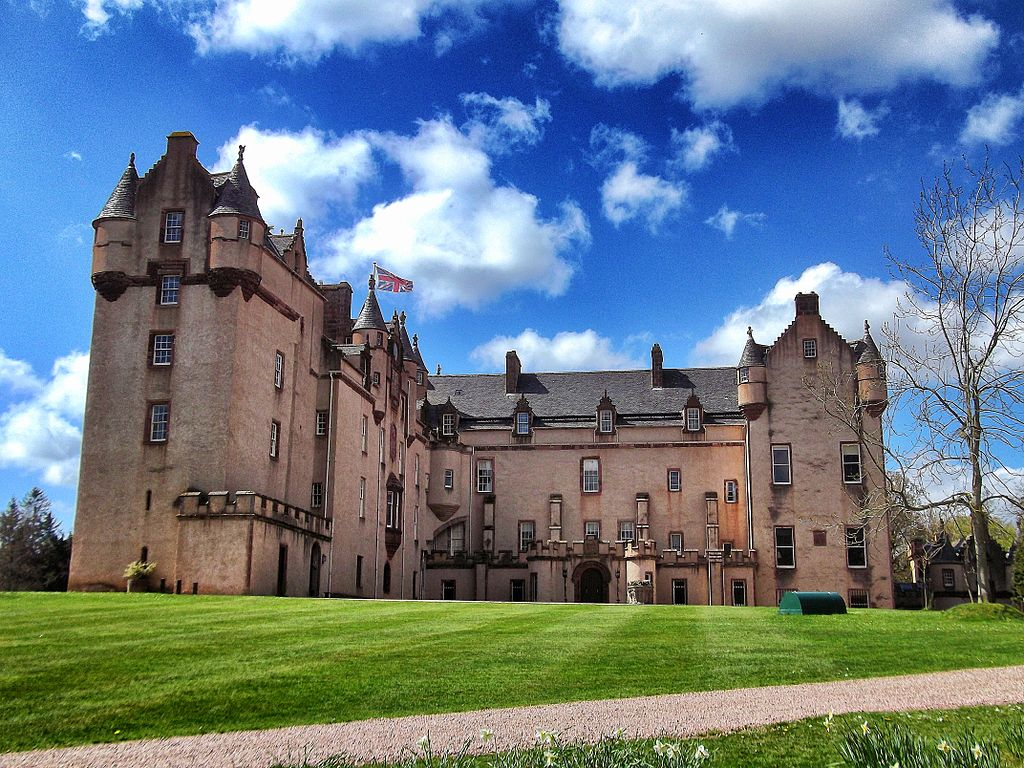 Aberdeenshire Fyvie Castle