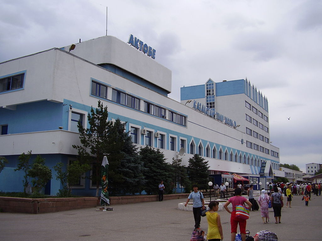 Aktobe train station