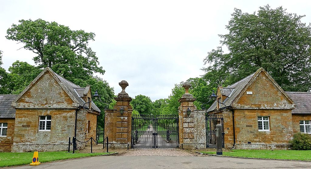 Althorp portile de intrare