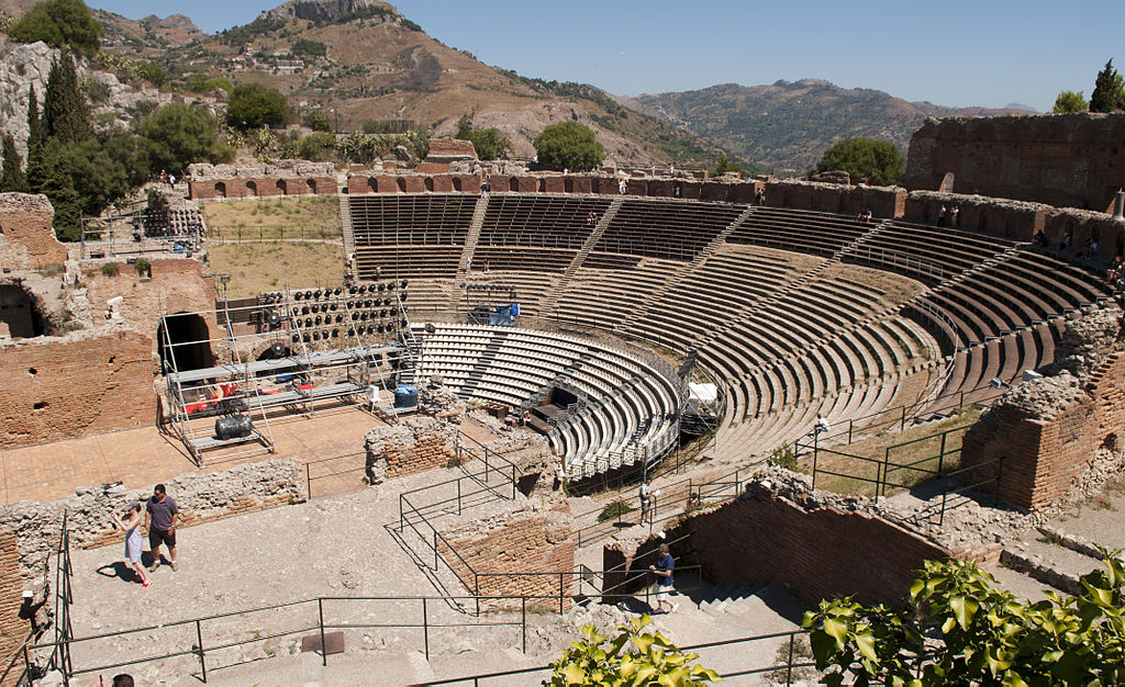 Amfiteatrul de la Taormina