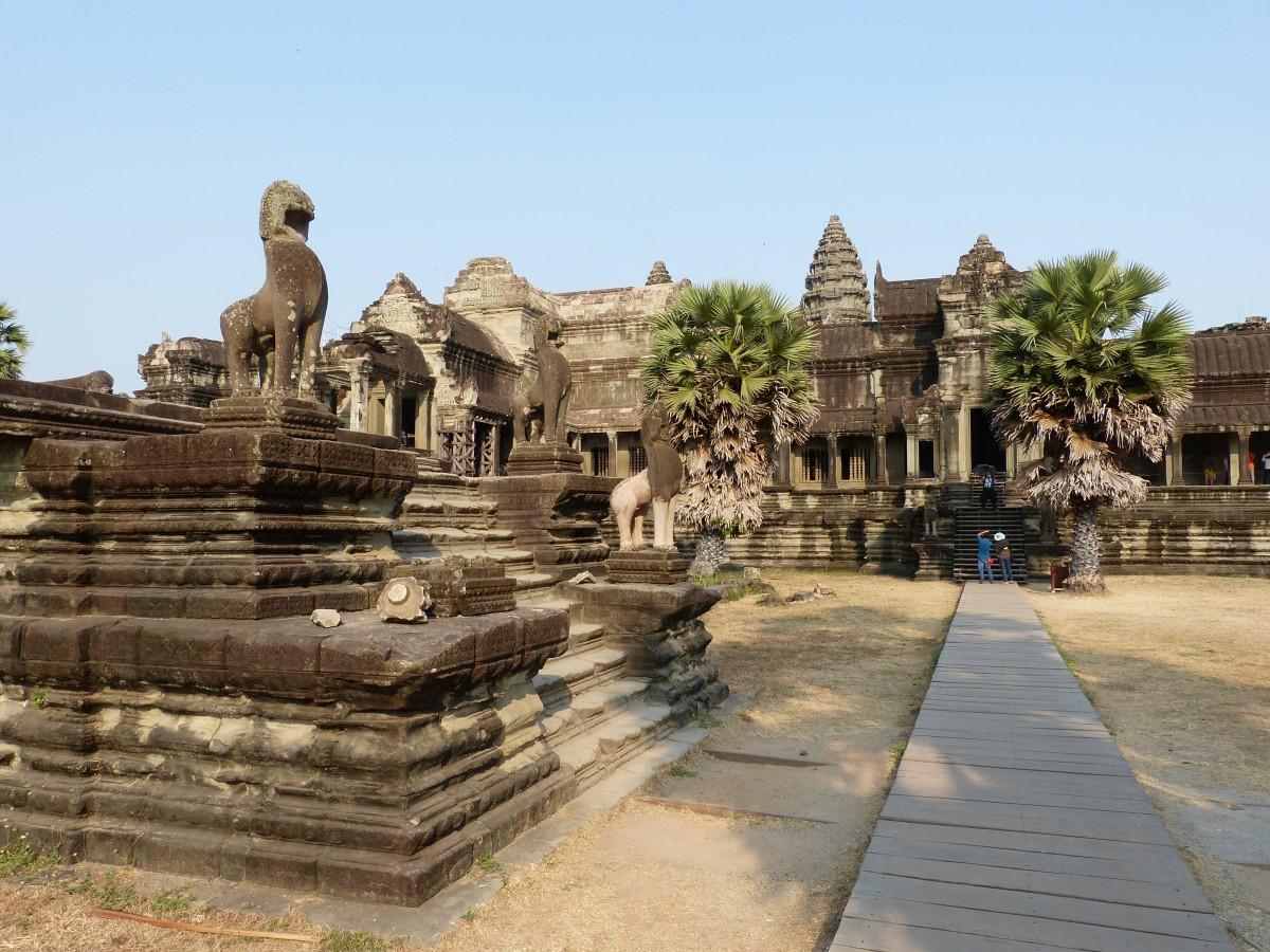 Angkor Wat atractie turistica