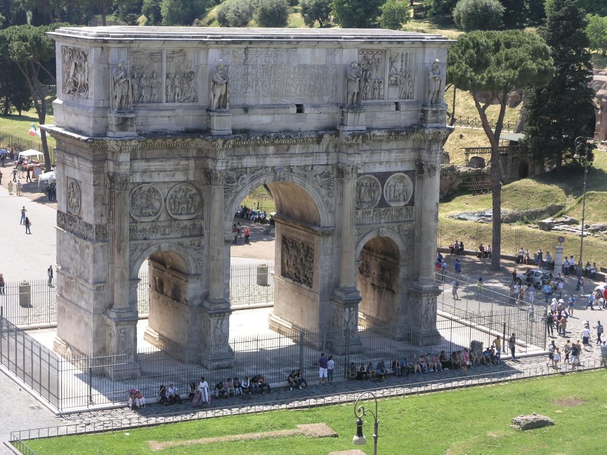 Arcul de Triumf al lui Constantin1