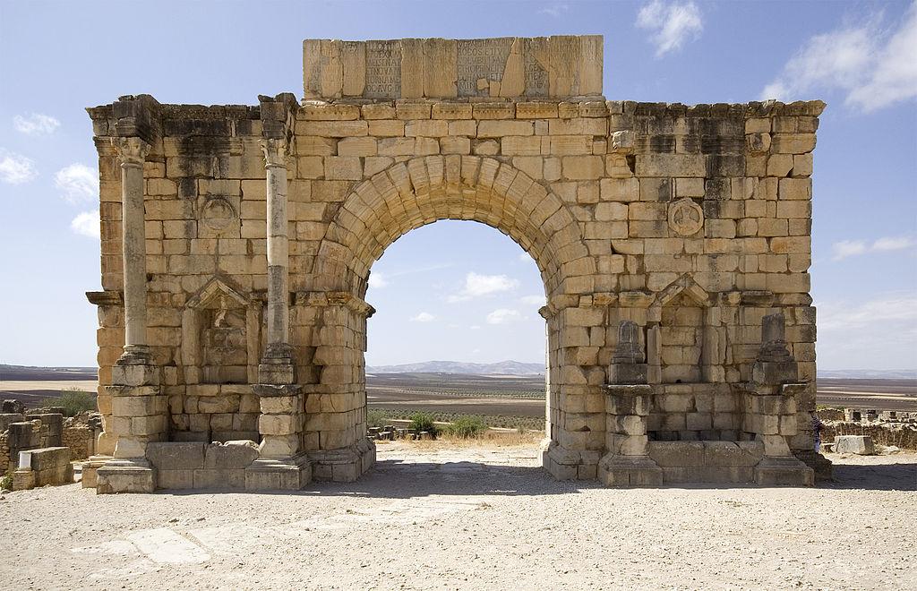 Arcul de Triumf din Volubilis