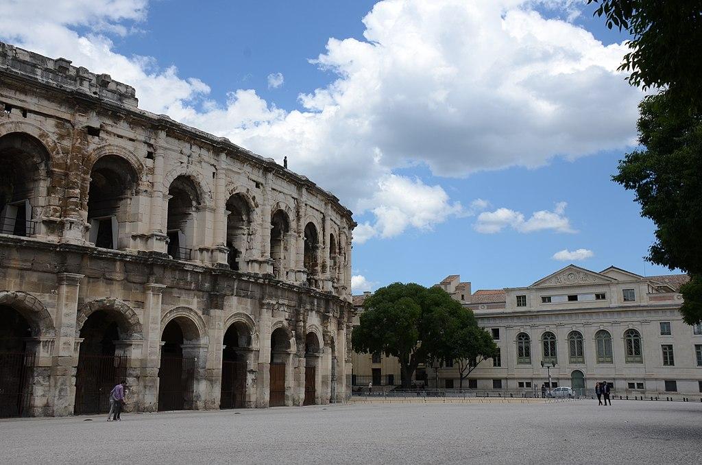 Arena romana din Nimes11