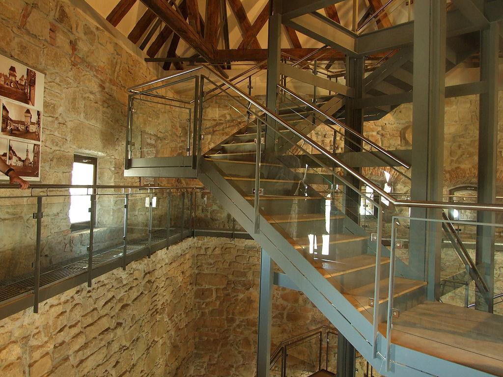 Bastion Bethlen interior