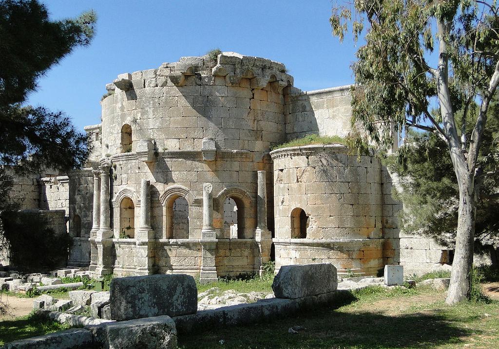 Bazilica Qala'at Saaman1
