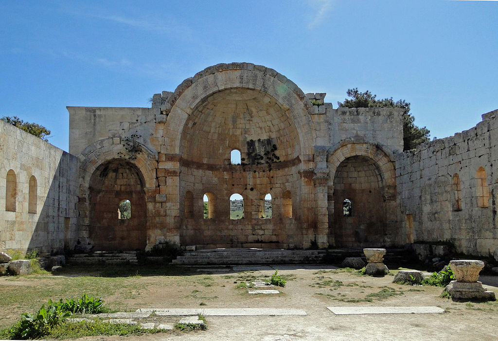 Bazilica Qala'at Saaman111