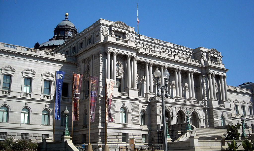 Biblioteca Congresului din Washington DC