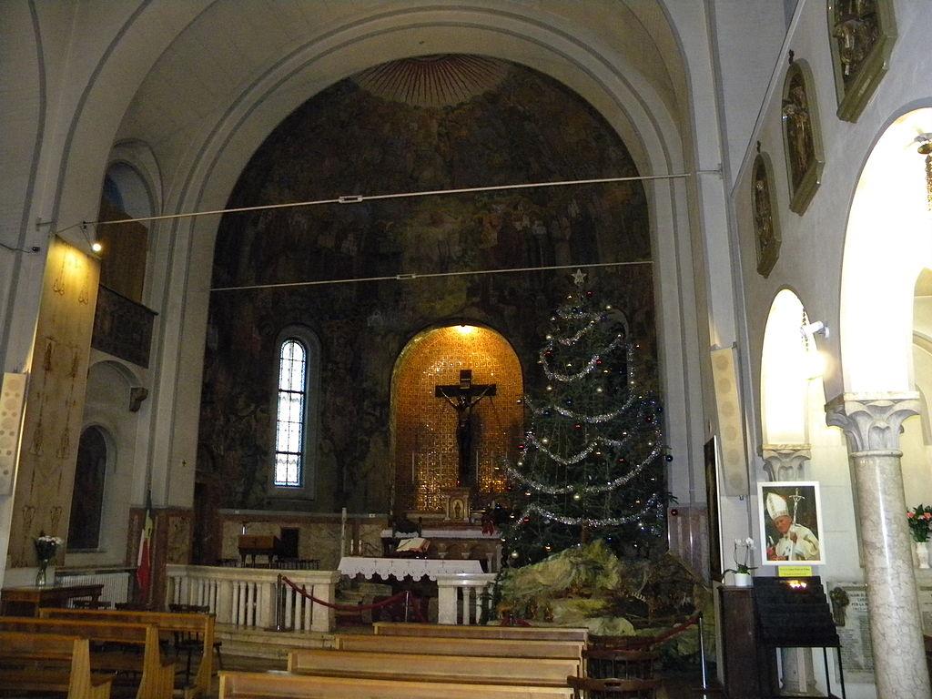 Biserica Italiana din Bucuresti interior