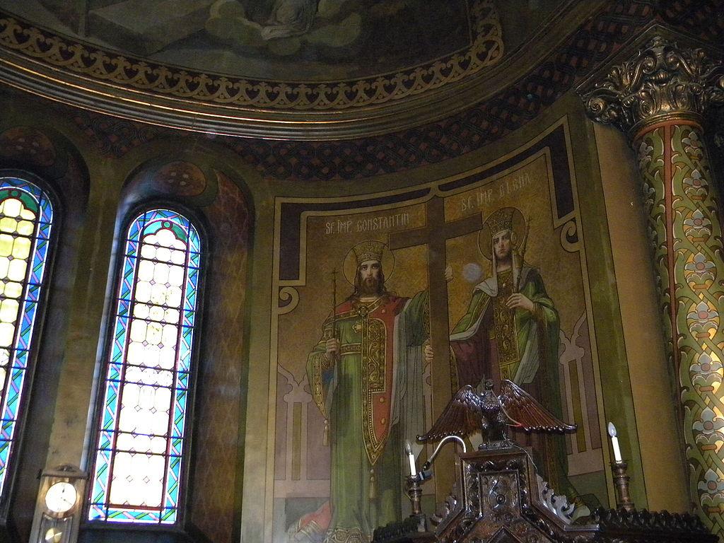 Biserica Sfantul Silvestru interior