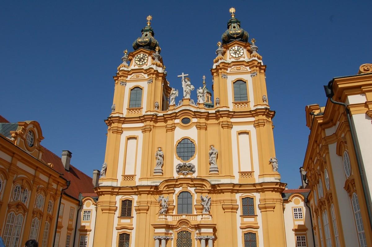 Biserica abatiei din Melk