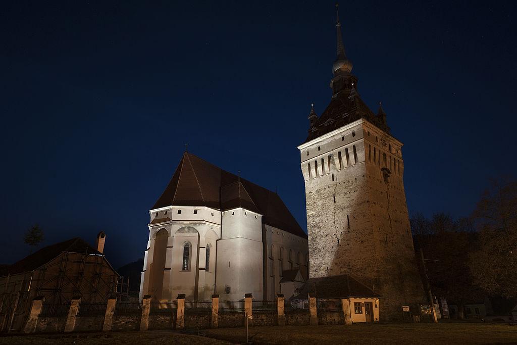 Biserica evanghelică din Saschiz