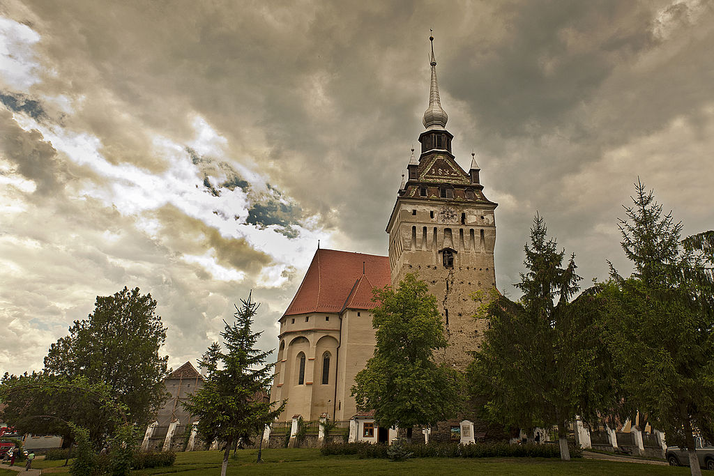 Biserica evanghelică din Saschiz1