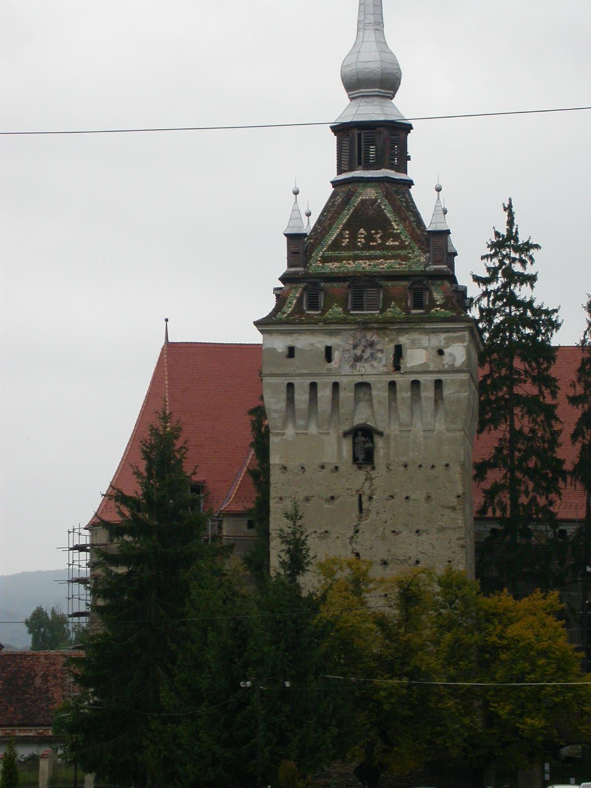Biserica evanghelică din Saschiz11