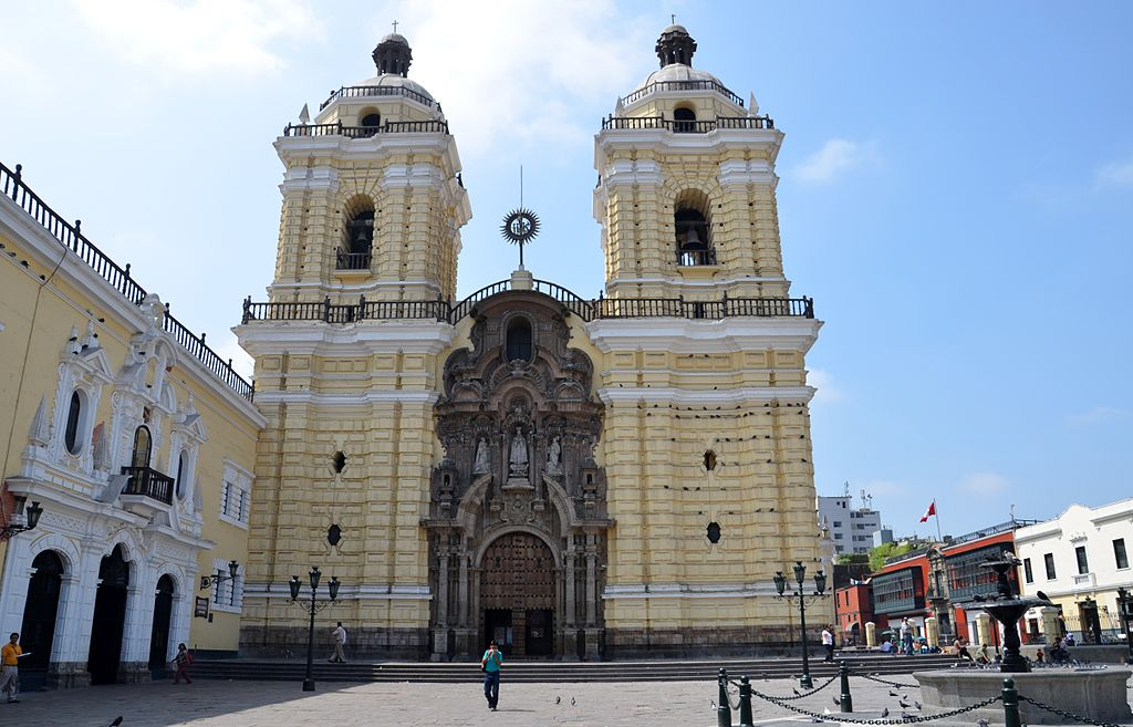 Biserica si manastirea San Francisco din Lima