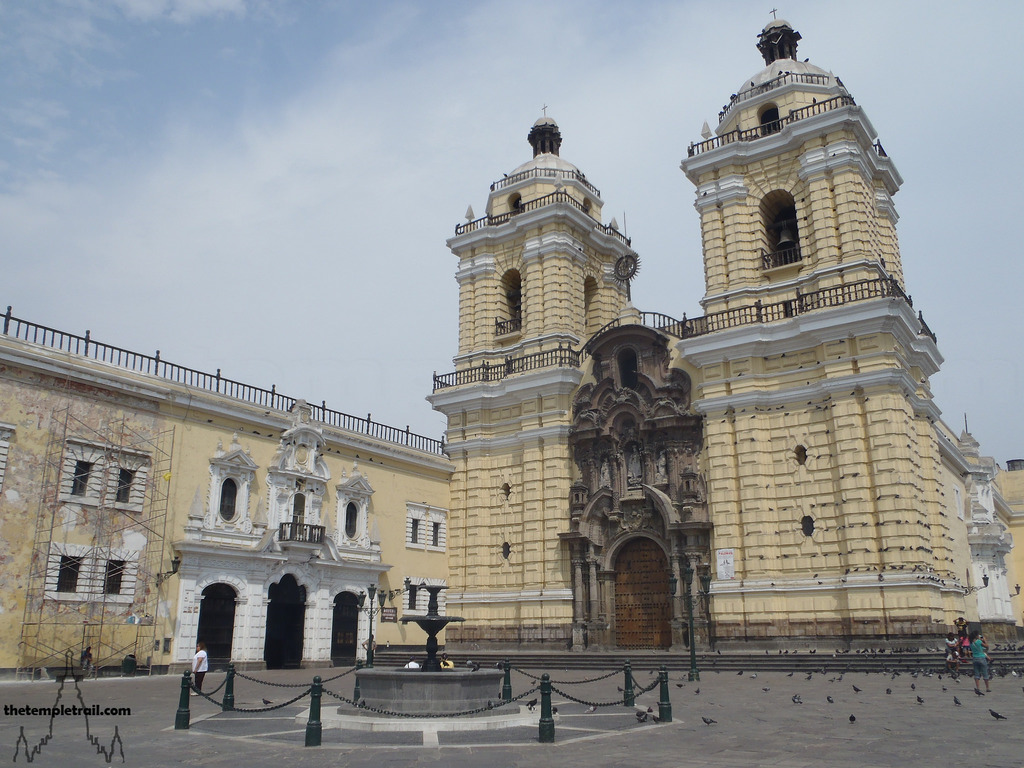 Biserica si manastirea San Francisco din Lima1