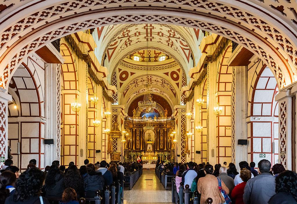 Biserica si manastirea San Francisco din Lima11
