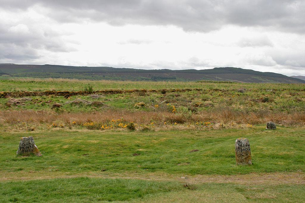 Campul de batalie de la Culloden11