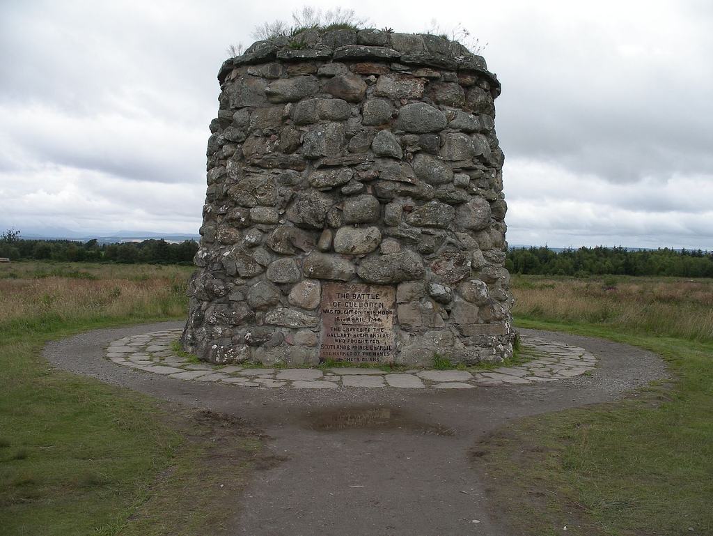 Campul de batalie de la Culloden111
