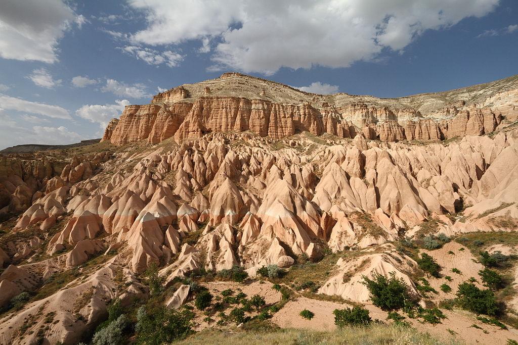 Cappadocia view mountain