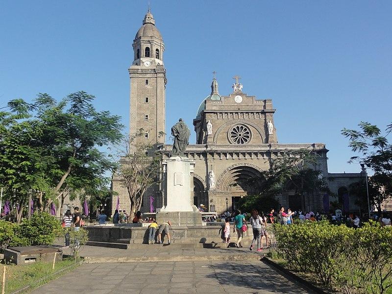 Cartierul Intramuros Catedrala Manila