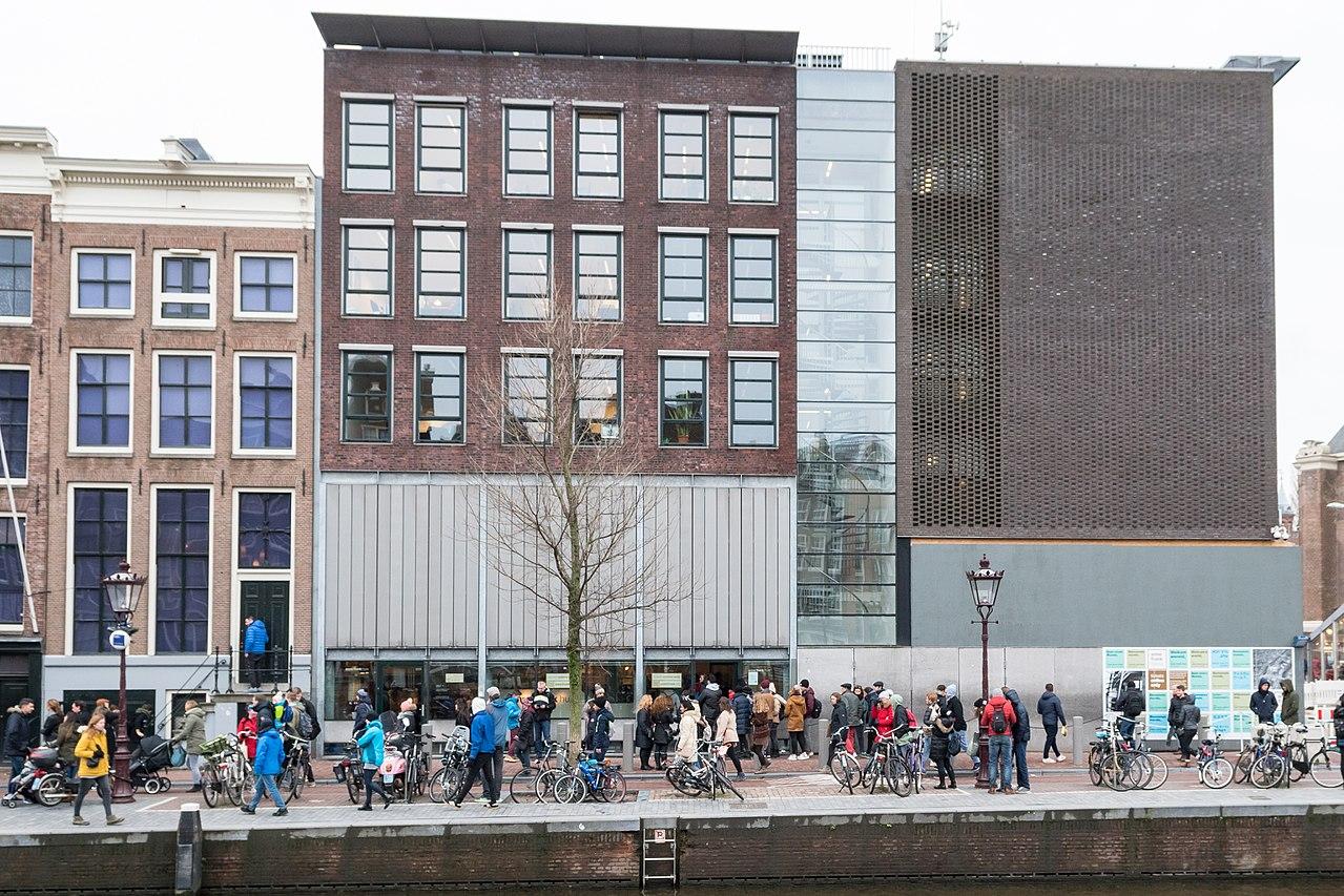 Casa Annei Frank din Amsterdam