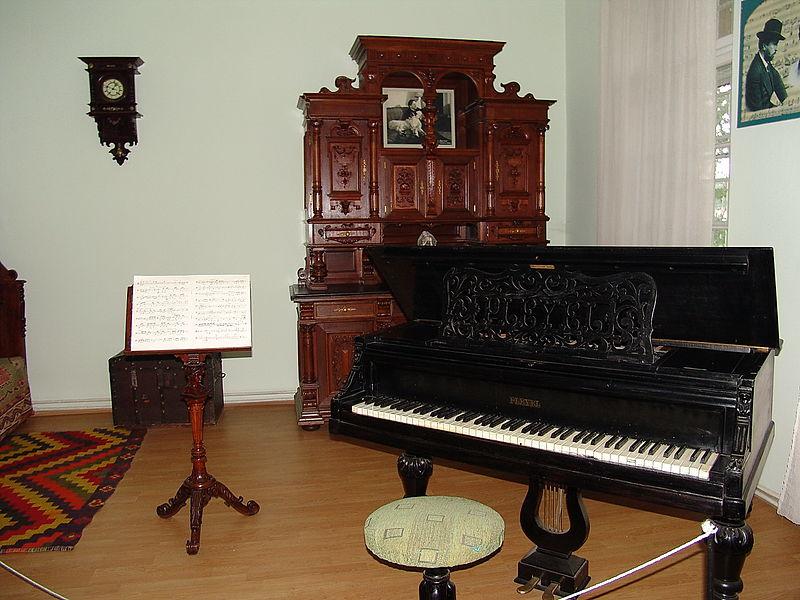 """Casa memorială """"George Enescu"""" Dorohoi"""