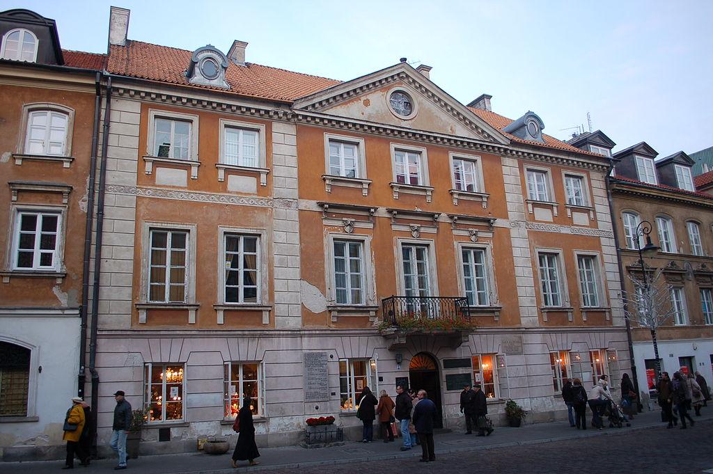 Casa natala a lui Marie Curie din Varsovia