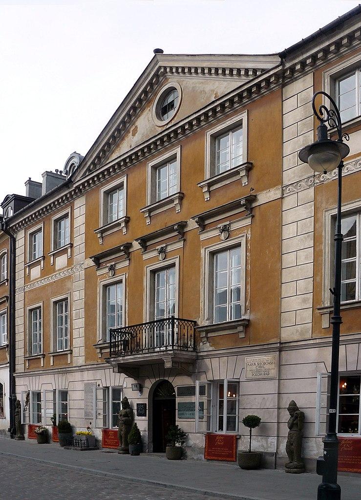 Casa natala a lui Marie Curie din Varsovia111