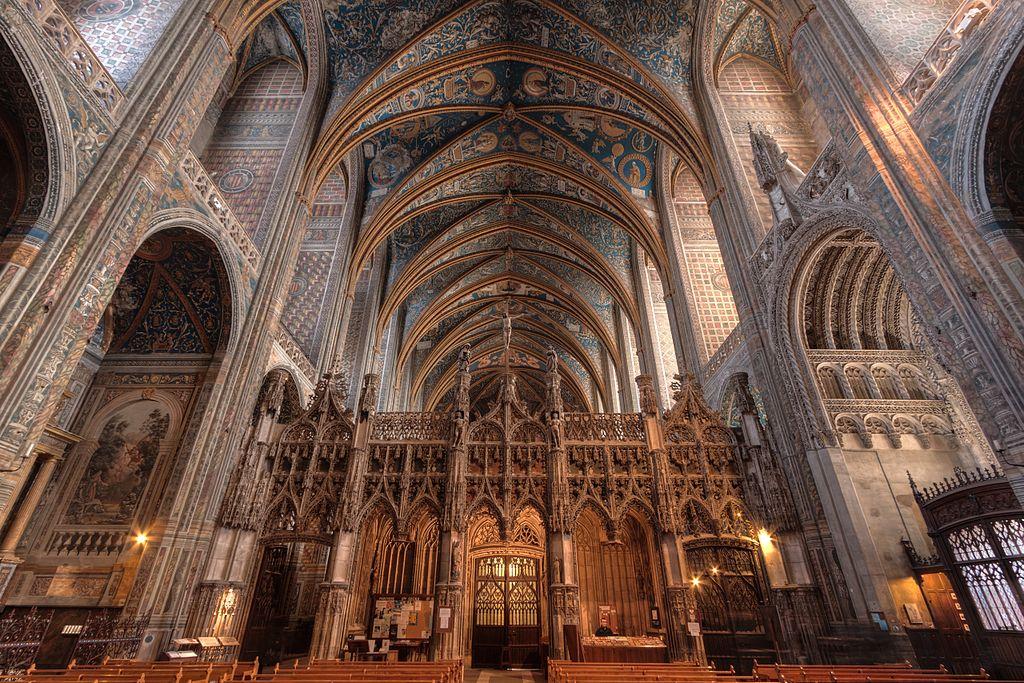 Catedrala Sainte-Cecile interior