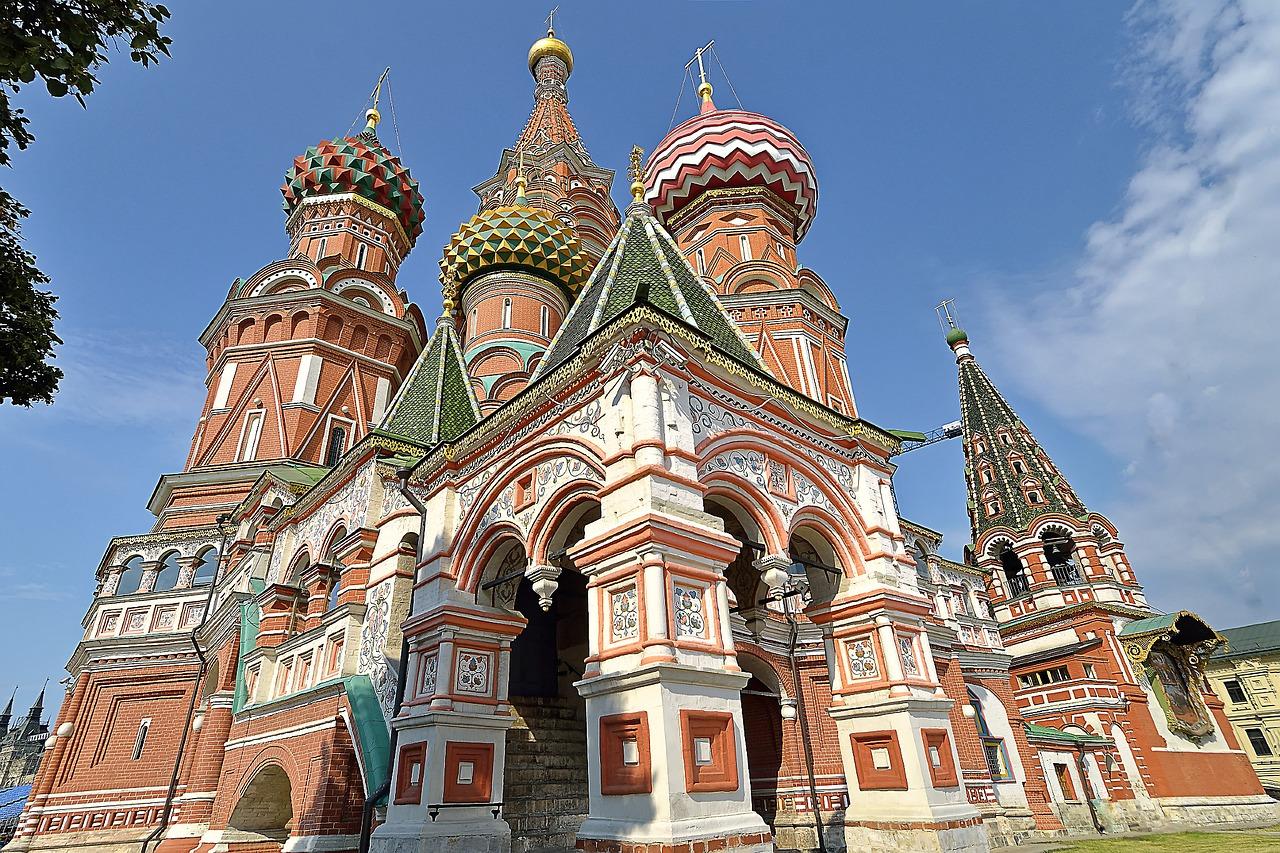 Catedrala Sfantul Vasile din Moscova1