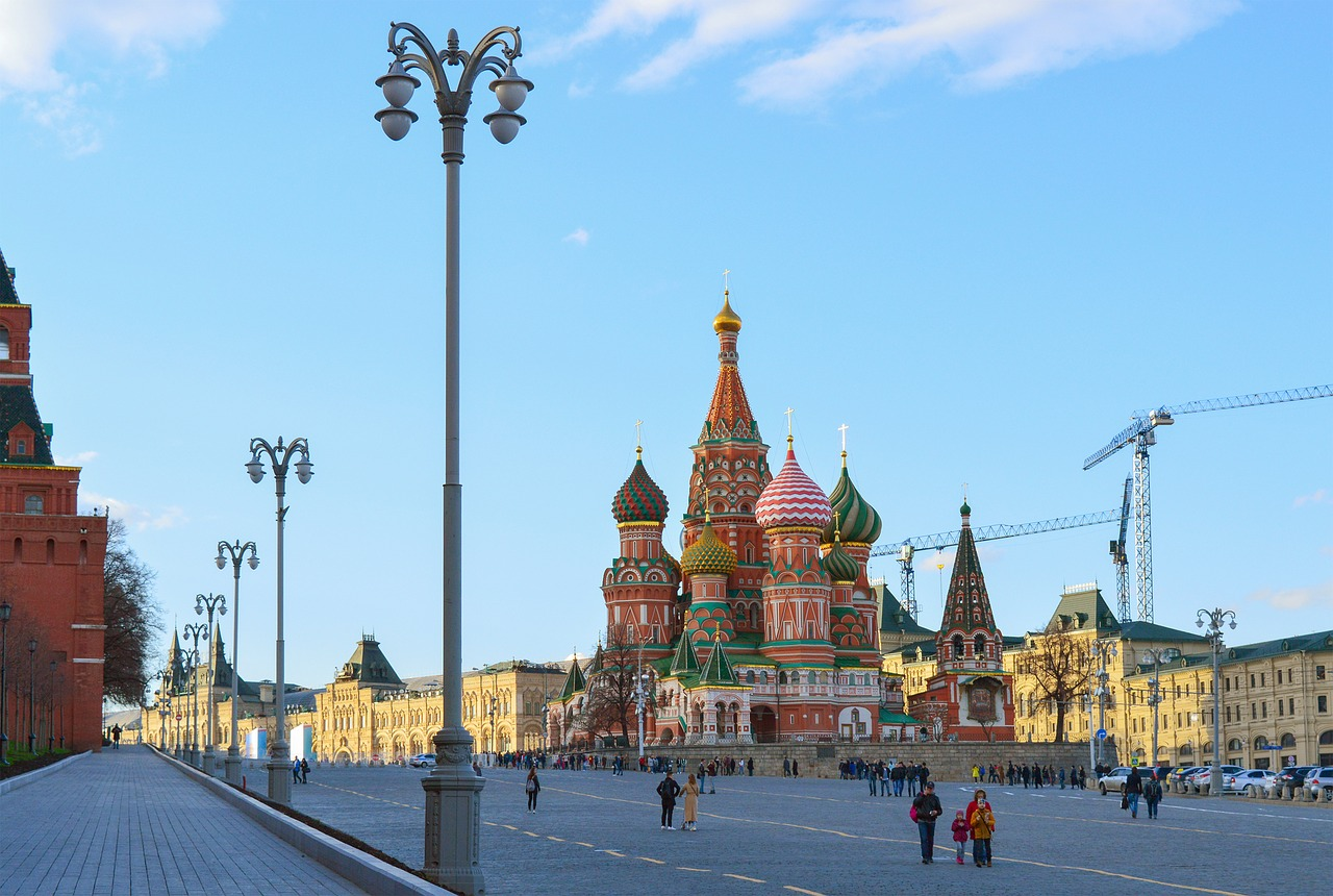 Catedrala Sfantul Vasile din Moscova1111