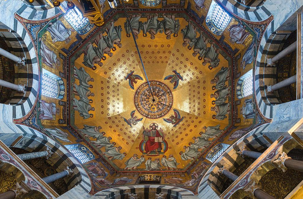 Catedrala din Aachen Mosaic