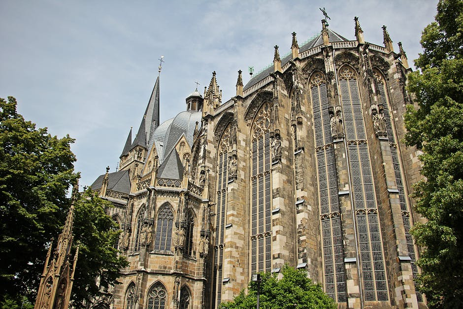 Catedrala din Aachen arhitectura