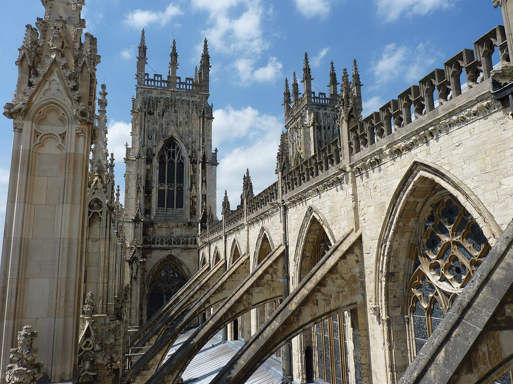 Catedrala din York design