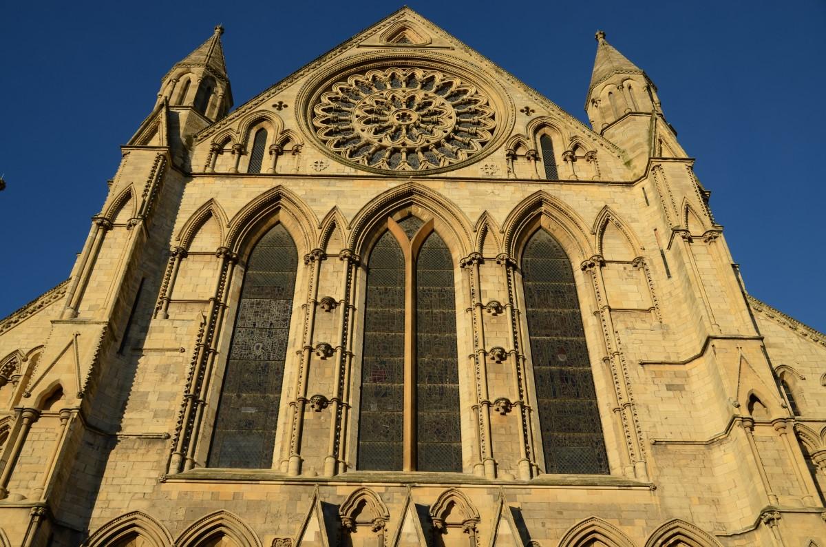 Catedrala din York fatada