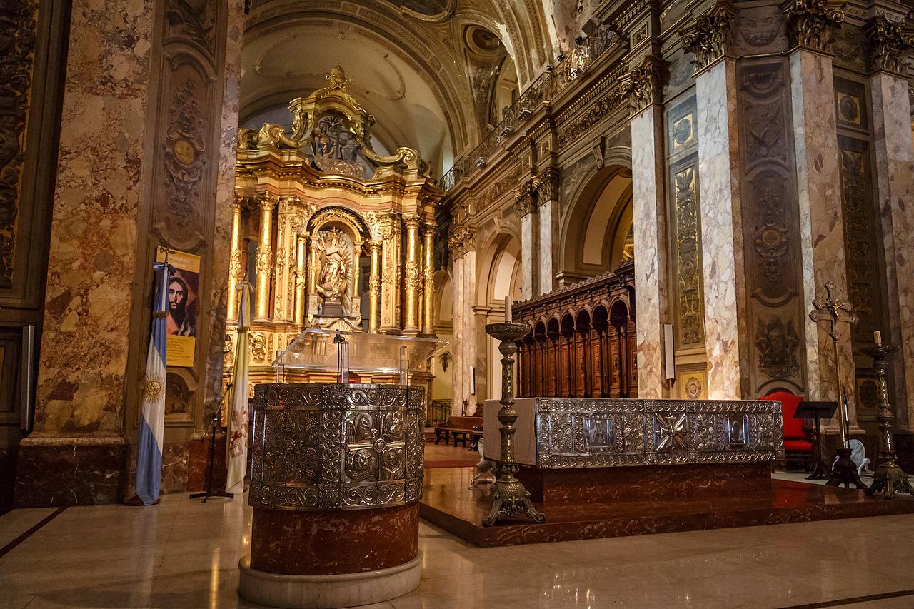 Catedrala metropolitana din Buenos Aires111