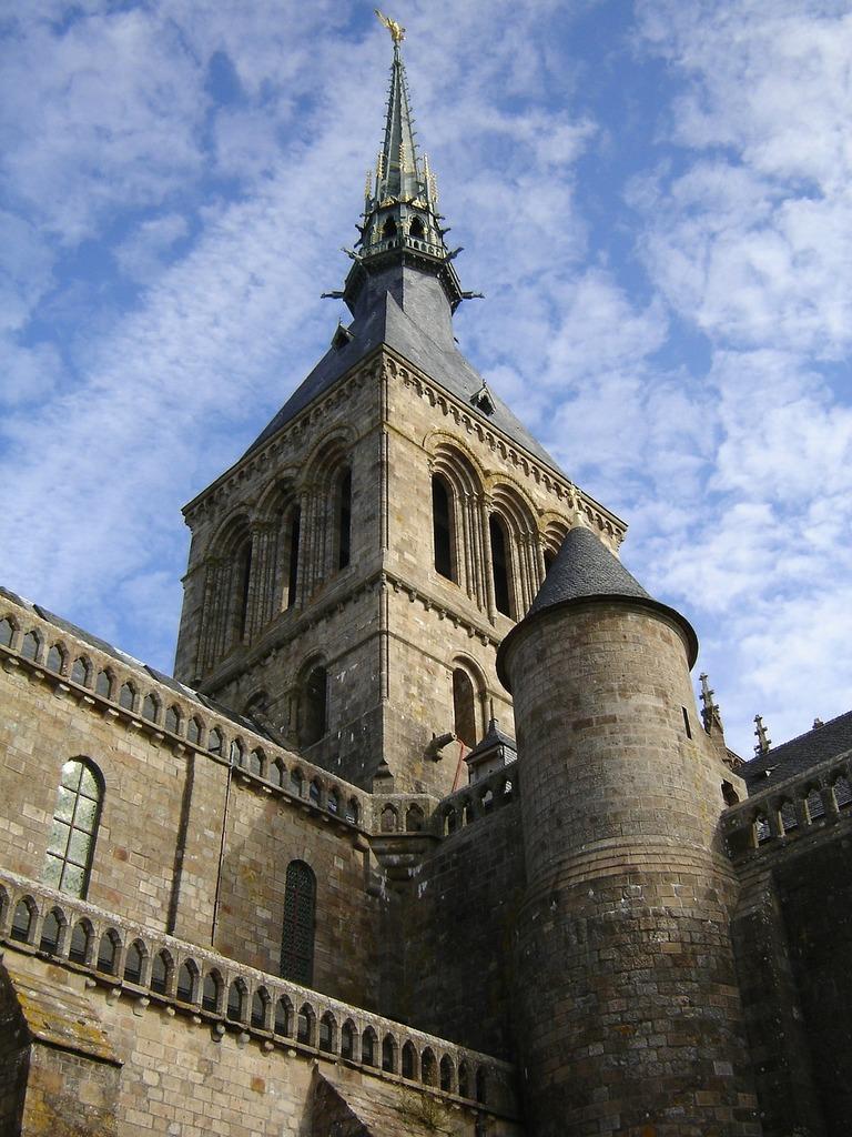 Church steeple spire, religion.